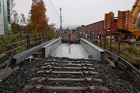 Jernbanebru over Semselva